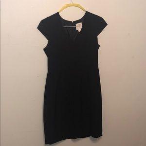 JCrew black dress. Size 8